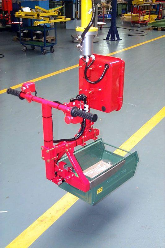 Manipulator równoważący ciężar Posifil na podwójnych linkach stalowych - Manipulatory DALMEC (9)