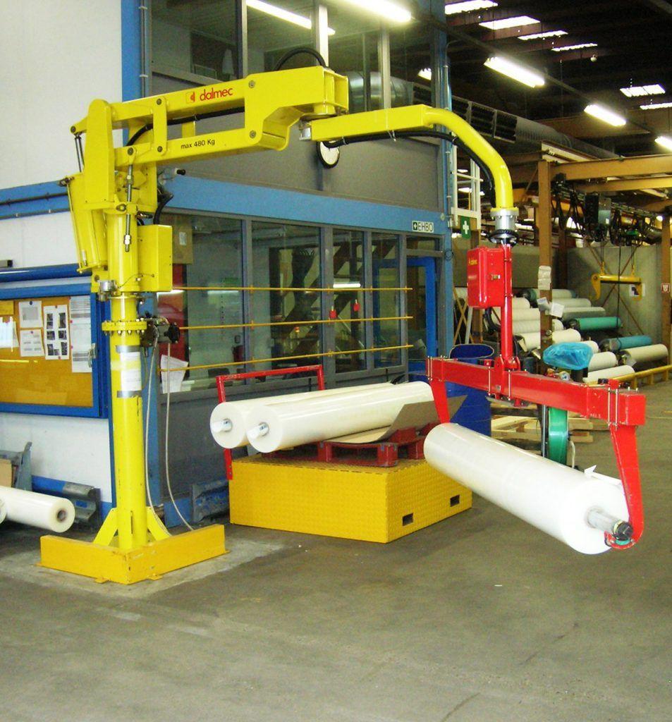 Rozwiązania Rolki Manipulatory Przemysłowe Dalmec i materiałów - Manipulatory DALMEC (19)