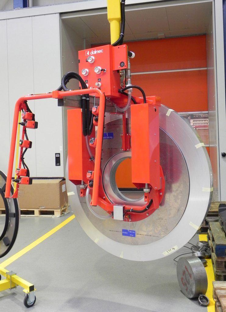 Rozwiązania Rolki Manipulatory Przemysłowe Dalmec i materiałów - Manipulatory DALMEC (8)