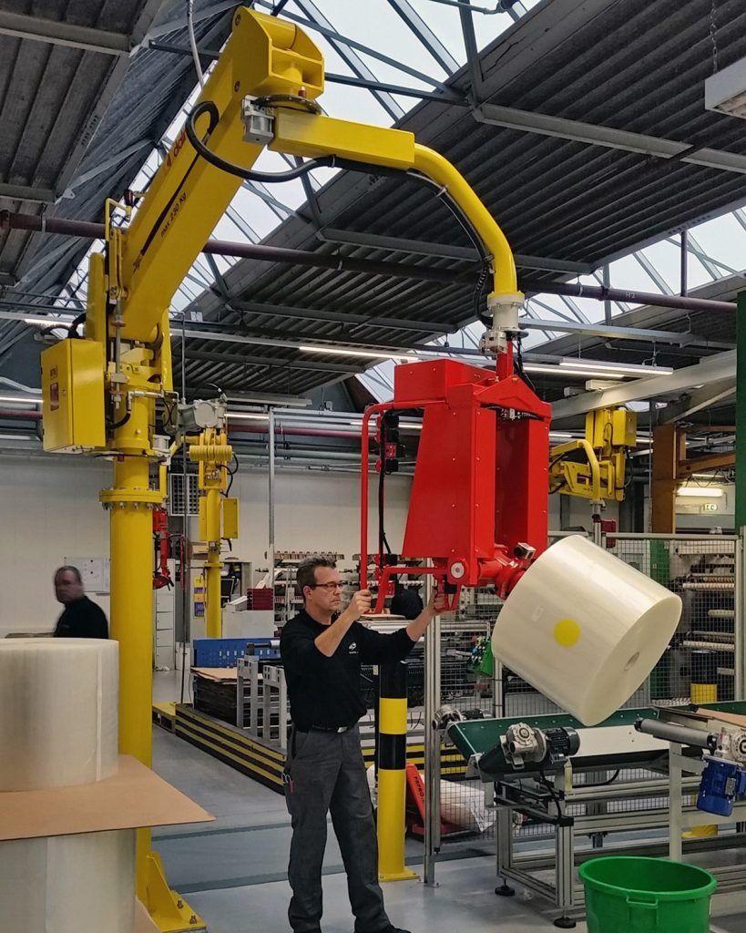 Rozwiązania Rolki Manipulatory Przemysłowe Dalmec i materiałów - Manipulatory DALMEC (12)