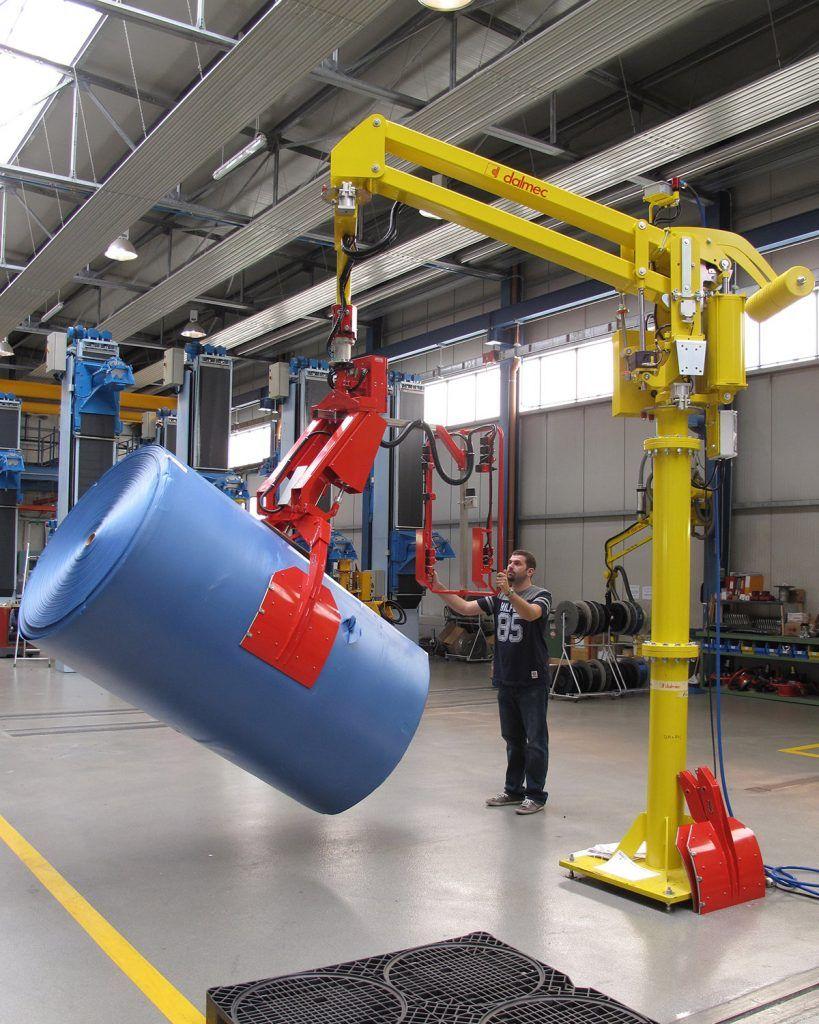 Rozwiązania Rolki Manipulatory Przemysłowe Dalmec i materiałów - Manipulatory DALMEC (3)