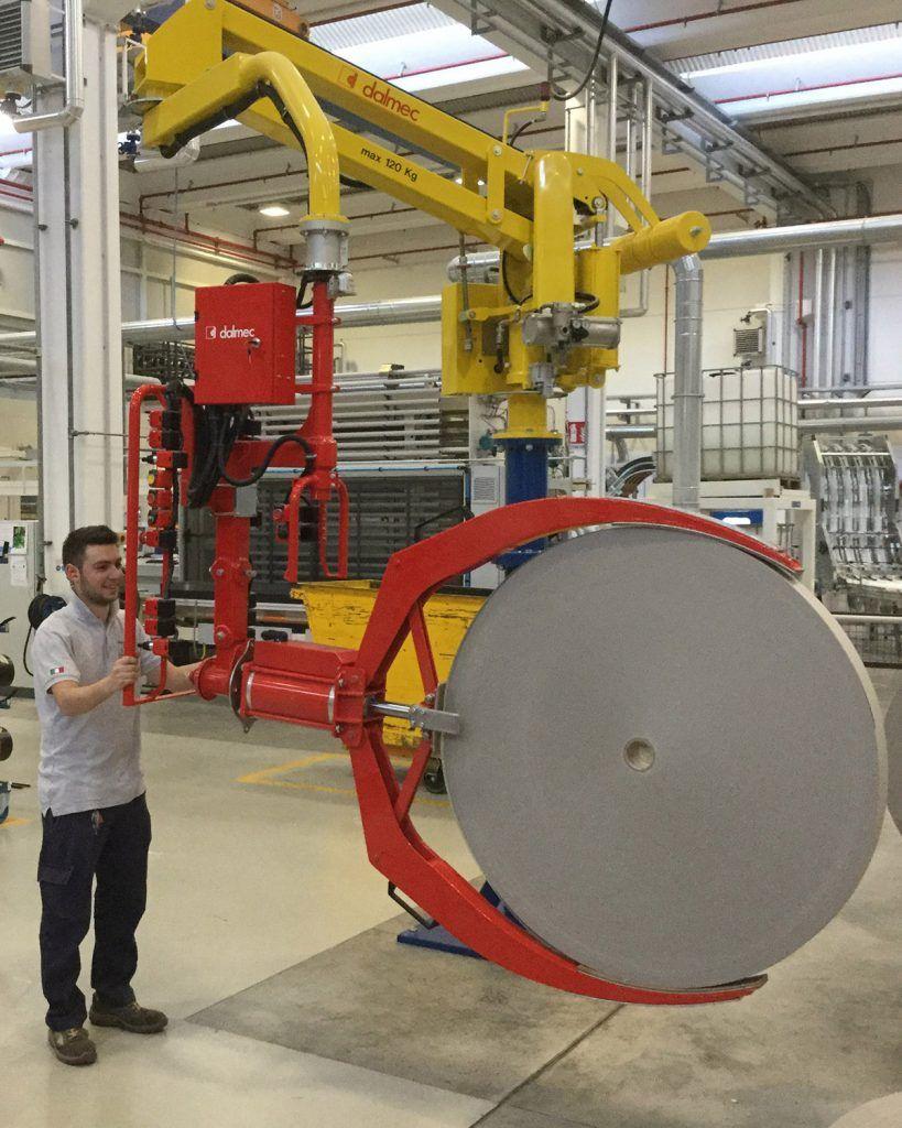 Rozwiązania Rolki Manipulatory Przemysłowe Dalmec i materiałów - Manipulatory DALMEC (7)