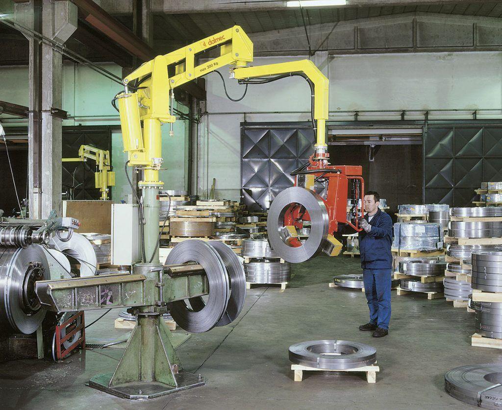 Rozwiązania Rolki Manipulatory Przemysłowe Dalmec i materiałów - Manipulatory DALMEC (10)