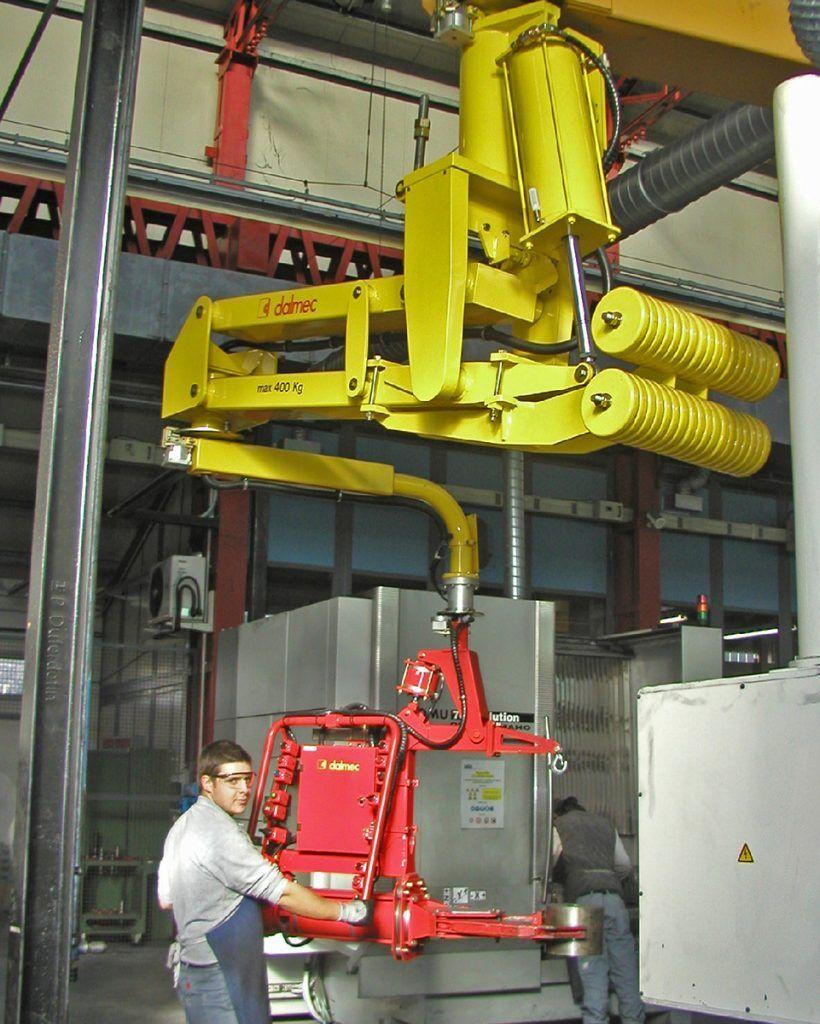 Manipulator pneumatyczny Speedyfil - Manipulator linkowy Dalmec - Manipulatory DALMEC (37)