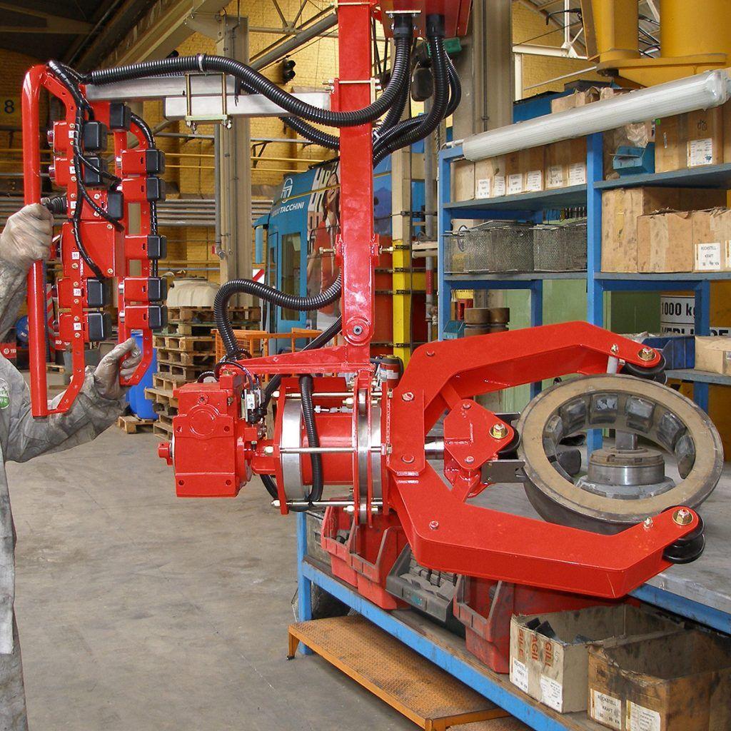 Manipulator pneumatyczny Speedyfil - Manipulator linkowy Dalmec - Manipulatory DALMEC (35)