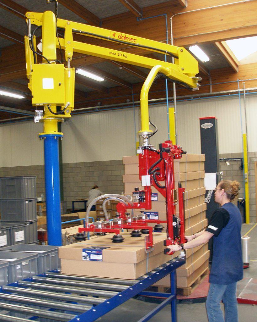 Rozwiązanie dla pakowania Manipulatory Dalmec dla sektoru opakowań - Manipulatory DALMEC (17)