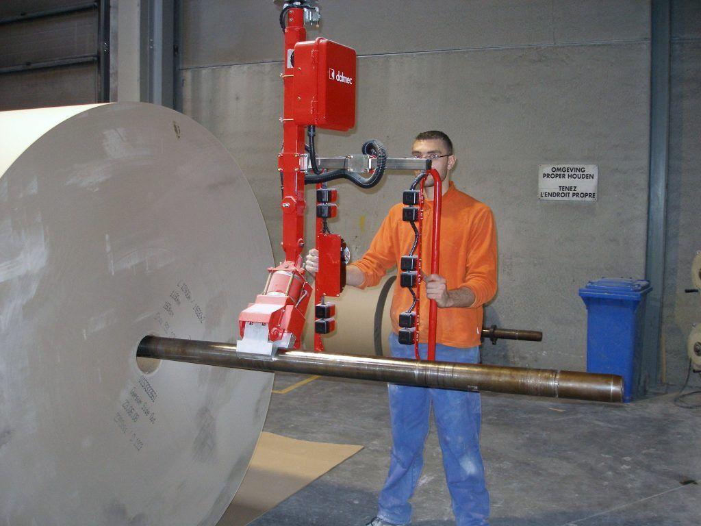 Rozwiązania Rolki Manipulatory Przemysłowe Dalmec i materiałów - Manipulatory DALMEC (9)