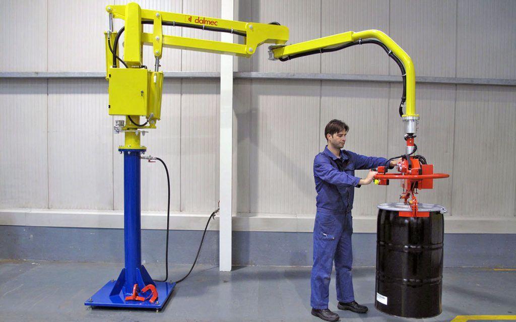 Chemia - DALMEC-Manipulator Przemysłowy dla sektora chemicznego - Manipulatory DALMEC (19)