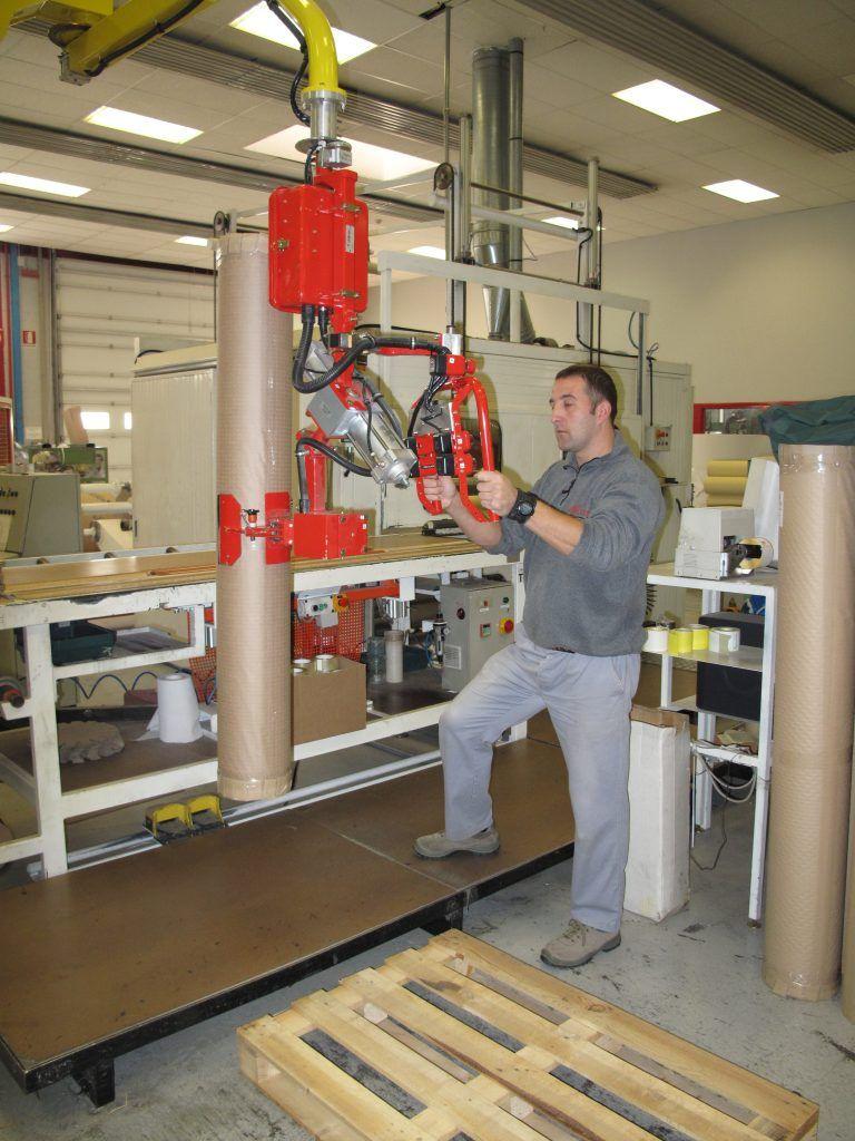 Rozwiązania Rolki Manipulatory Przemysłowe Dalmec i materiałów - Manipulatory DALMEC (5)