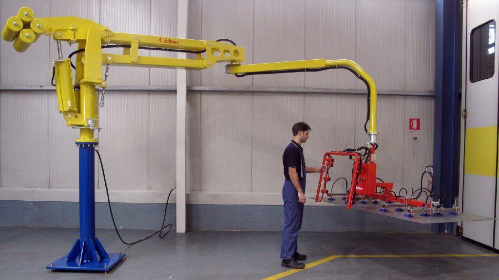 Manipulator pneumatyczny Speedyfil - Manipulator linkowy Dalmec - Manipulatory DALMEC (22)