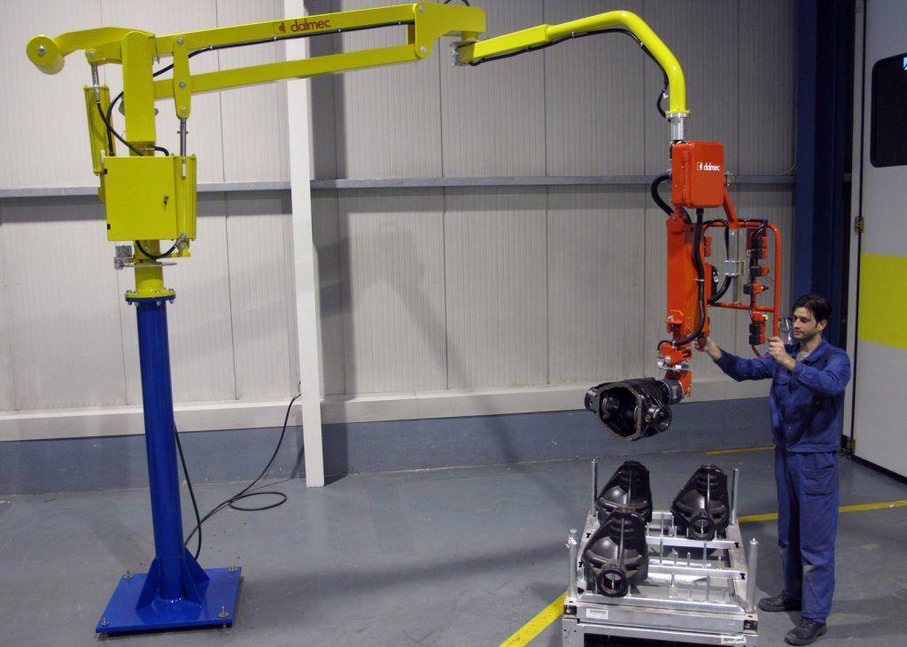 Manipulator pneumatyczny Speedyfil - Manipulator linkowy Dalmec - Manipulatory DALMEC (33)