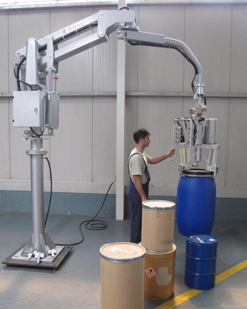 Chemia - DALMEC-Manipulator Przemysłowy dla sektora chemicznego - Manipulatory DALMEC (22)