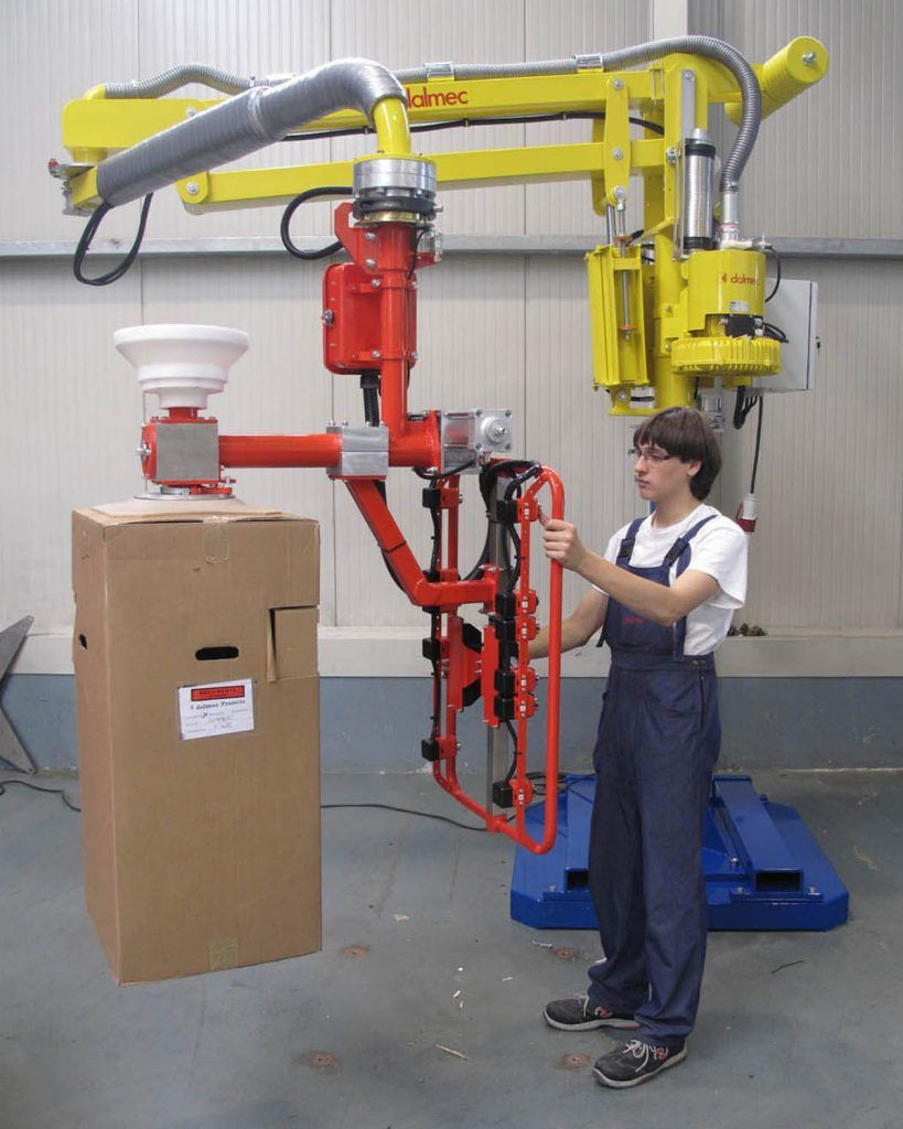Manipulator pneumatyczny Speedyfil - Manipulator linkowy Dalmec - Manipulatory DALMEC (16)