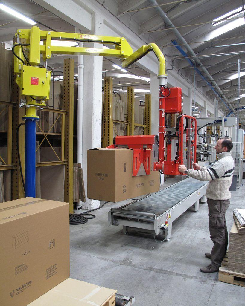 Rozwiązanie dla pakowania Manipulatory Dalmec dla sektoru opakowań - Manipulatory DALMEC (13)