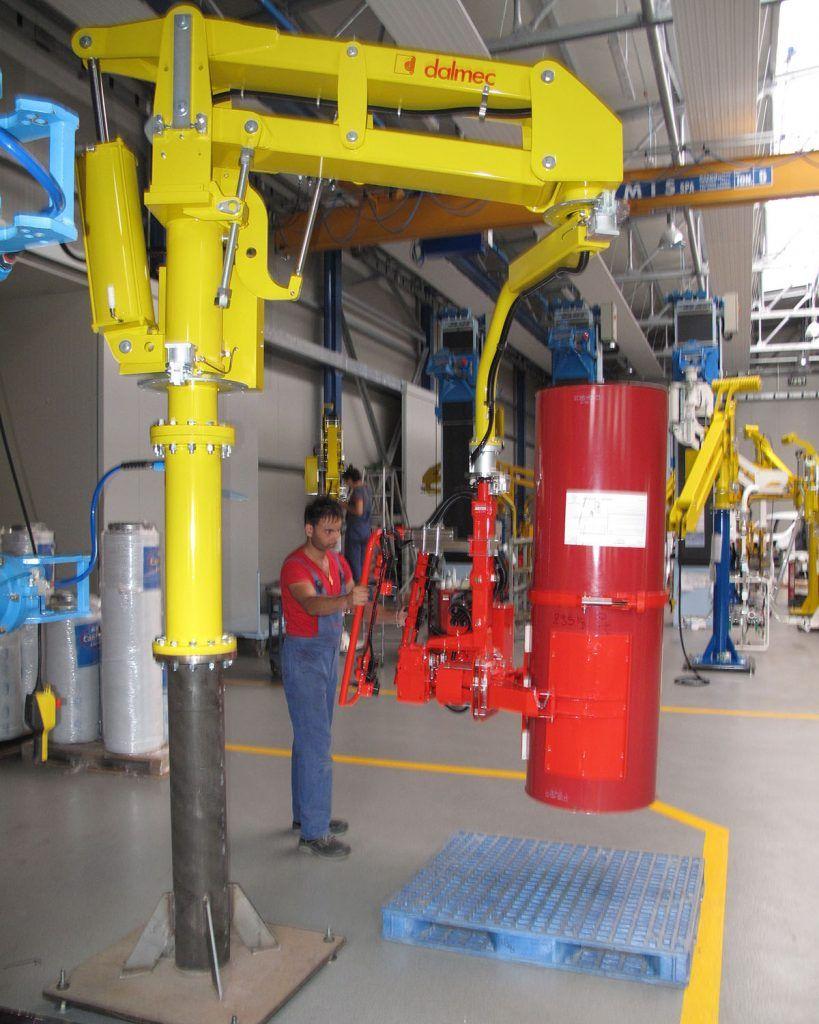 Chemia - DALMEC-Manipulator Przemysłowy dla sektora chemicznego - Manipulatory DALMEC (25)