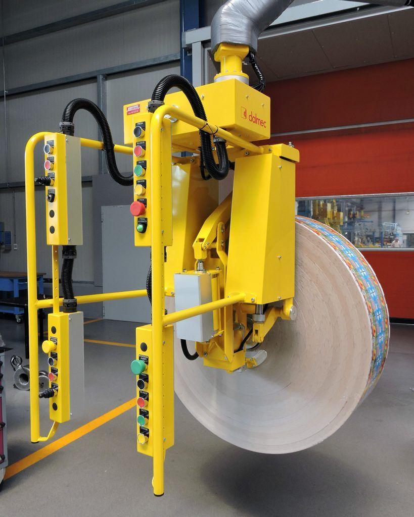 Rozwiązania Rolki Manipulatory Przemysłowe Dalmec i materiałów - Manipulatory DALMEC (6)