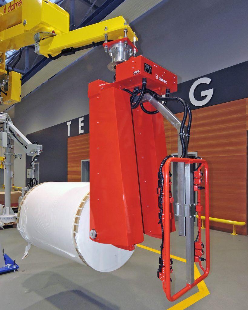 Rozwiązania Rolki Manipulatory Przemysłowe Dalmec i materiałów - Manipulatory DALMEC