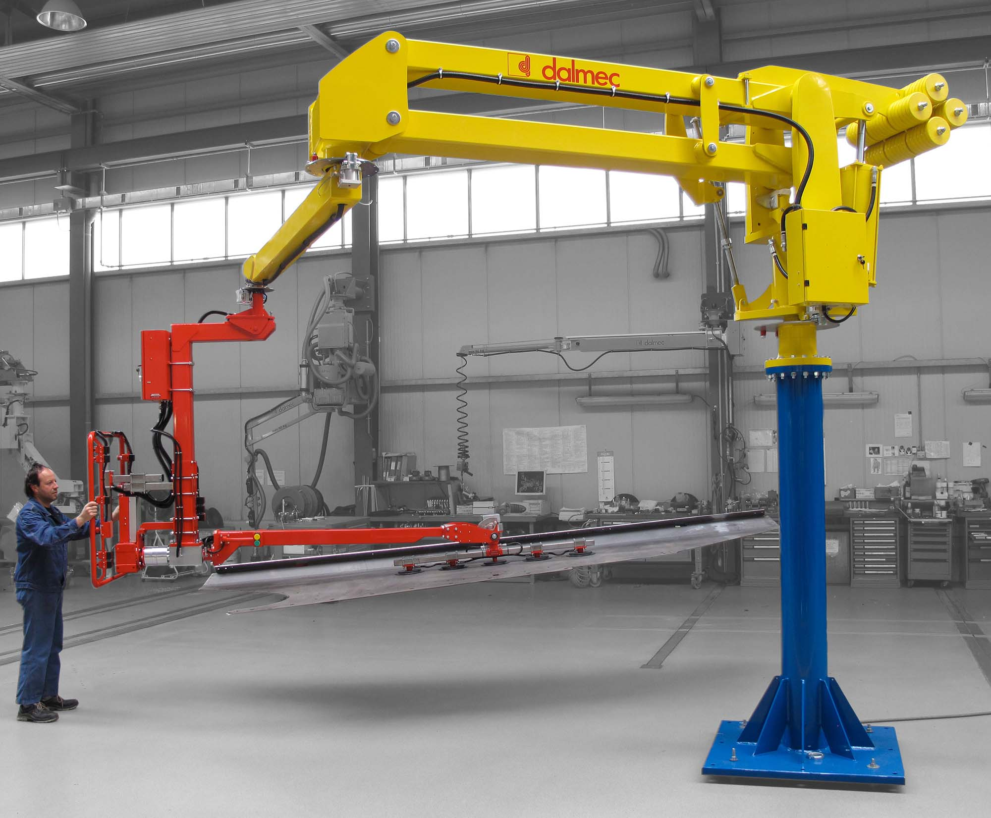 Industrial Manipulator For Metal Sheets Megapartner Handler