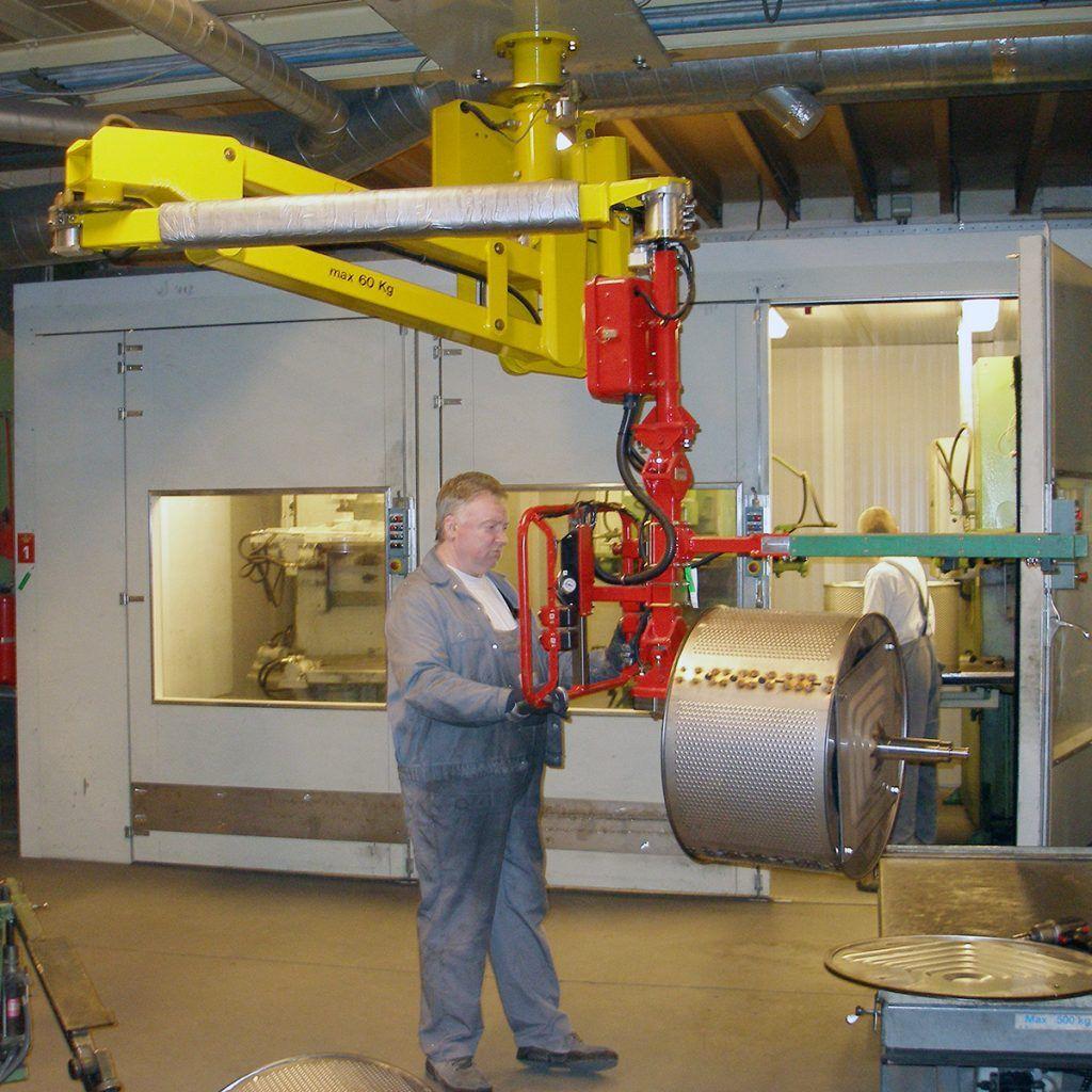 Balanser pneumatyczny Micropartner - Maszyny do podnoszenia - Manipulatory DALMEC (10)