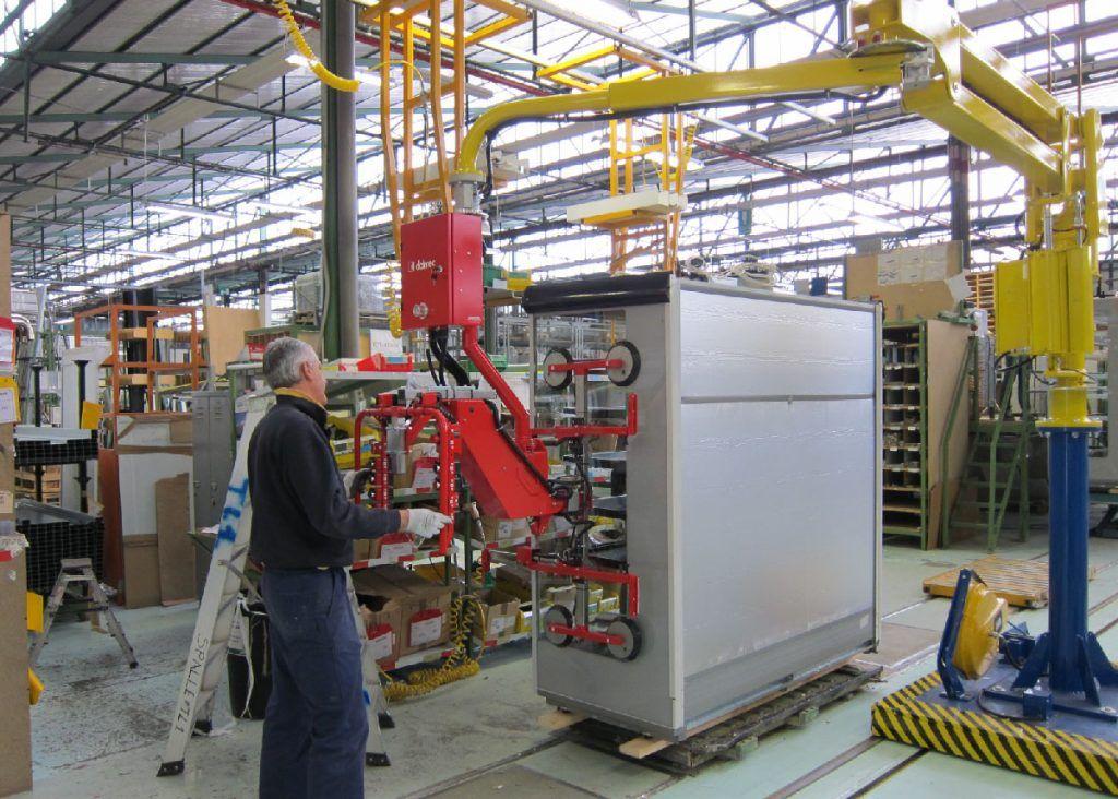 Szkło - Dalmec - Manipulatory Przemysłowe i przemieszczanie materiałów - Manipulatory DALMEC (3)