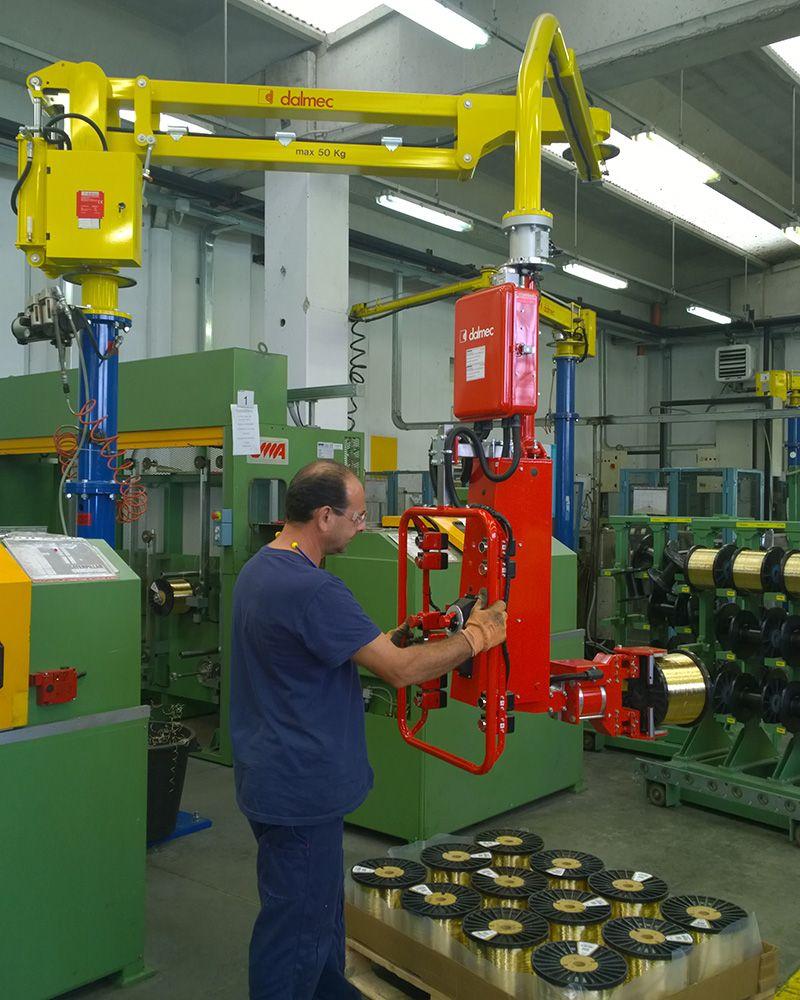 Rozwiązania Rolki Manipulatory Przemysłowe Dalmec i materiałów - Manipulatory DALMEC (13)