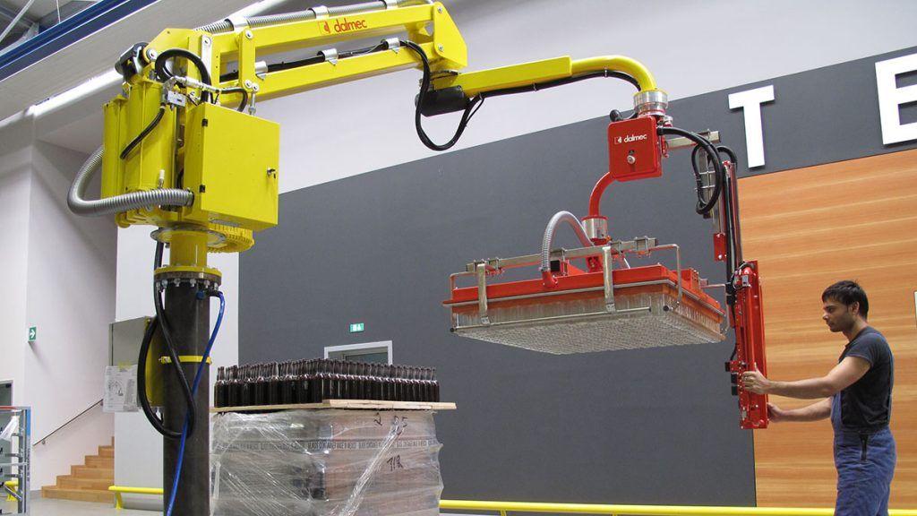 Manipulator pneumatyczny Speedyfil - Manipulator linkowy Dalmec - Manipulatory DALMEC (15)