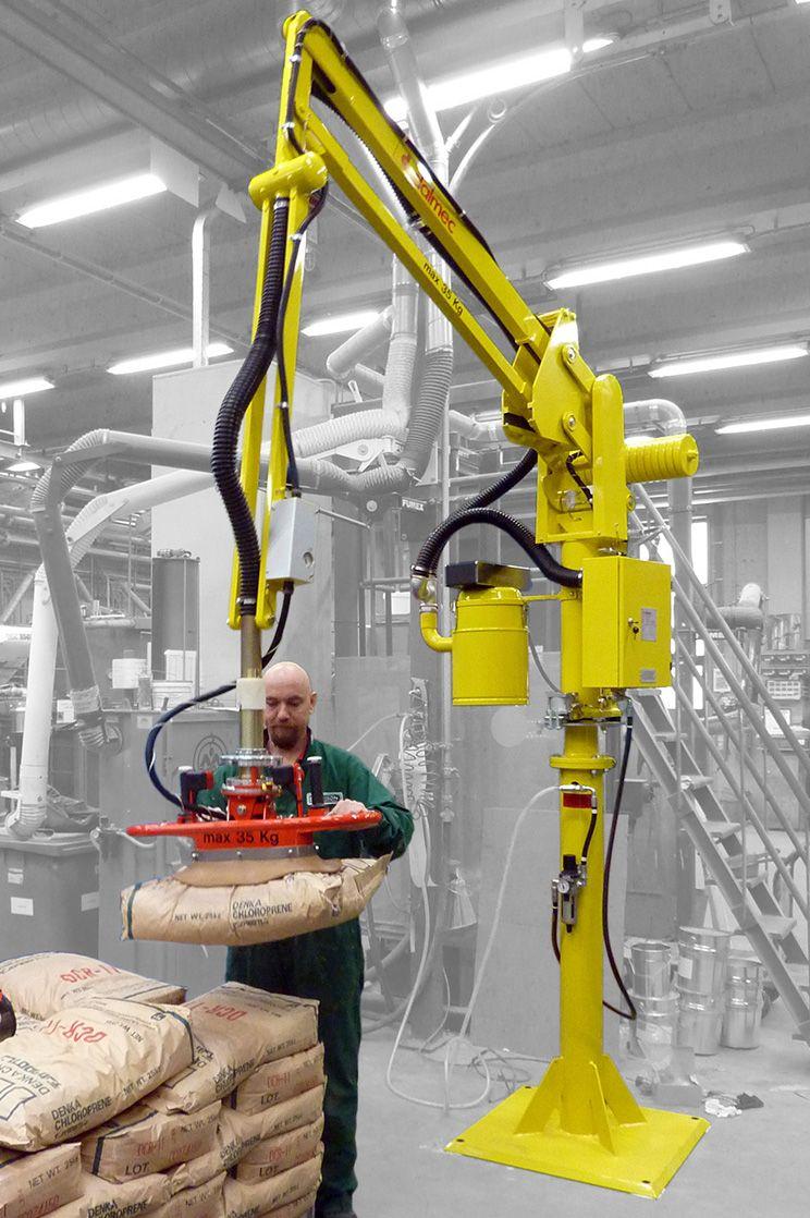 Podnośnik pneumatyczny Partner PS - Manipulatory przemysłowy - Manipulatory DALMEC (7)