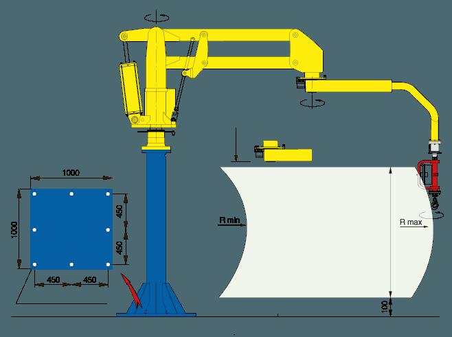 Układ podnoszenia Megapartner - Manipulator Dalmec - Manipulatory DALMEC (2)