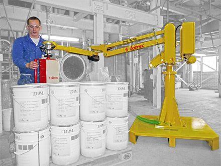 Balanser pneumatyczny Micropartner - Maszyny do podnoszenia - Manipulatory DALMEC (7)