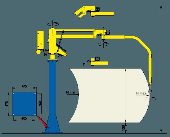 Balanser pneumatyczny Micropartner - Maszyny do podnoszenia - Manipulatory DALMEC (2)