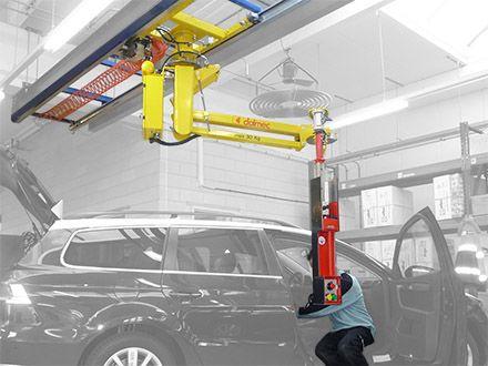 Balanser pneumatyczny Micropartner - Maszyny do podnoszenia - Manipulatory DALMEC (9)