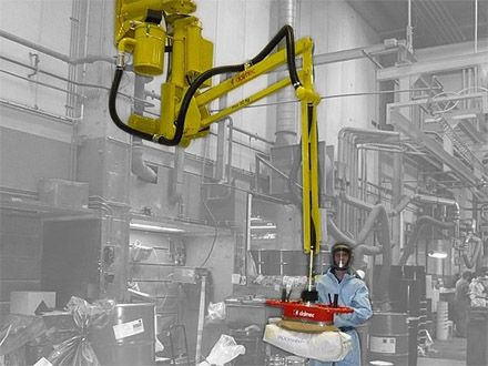 Podnośnik pneumatyczny Partner PS - Manipulatory przemysłowy - Manipulatory DALMEC (9)