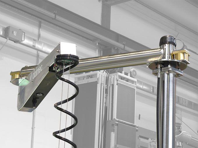 Balanser pneumatyczny typu Posivel - Balanser linkowy do kubłów Dalmec - Manipulatory DALMEC (8)