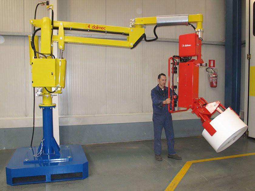 Rozwiązania Rolki Manipulatory Przemysłowe Dalmec i materiałów - Manipulatory DALMEC (4)