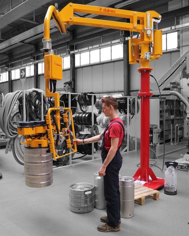 Ergonomic Industrial Manipulator : Manipulators with rigid arms archivi dalmec industrial