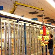 Manipulator równoważący ciężar Posifil na podwójnych linkach stalowych - Manipulatory DALMEC (15)