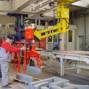 Produkty cementowe - Manipulatory Dalmec - Przemieszczanie materiałów - Manipulatory DALMEC