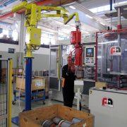 Silniki elektryczne Dalmec Manipulatory i przemieszczanie materiałów - Manipulatory DALMEC