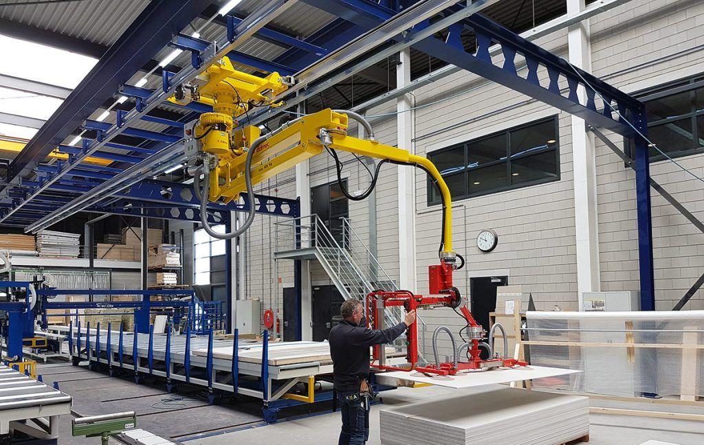 PARTNER EQUO-DALMEC-Industrial Manipulators and Material